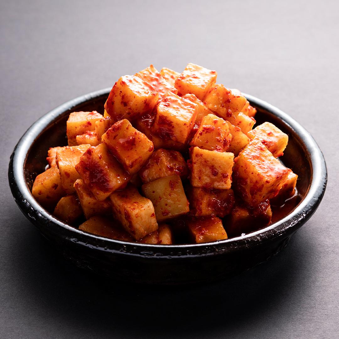 Diced Radish Kimchi (깍두기)